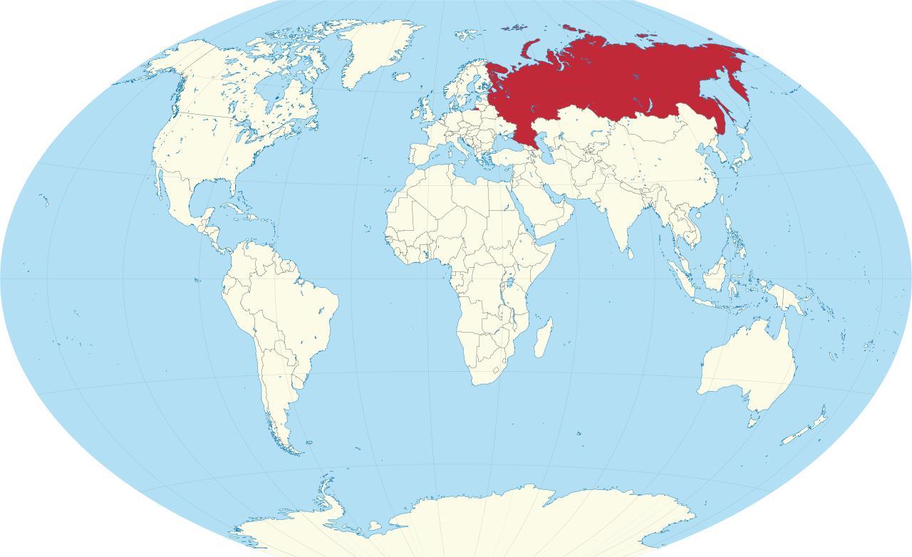 Karti Rusija Rusija Je Na Karti Svijeta Istocne Evrope Evropi