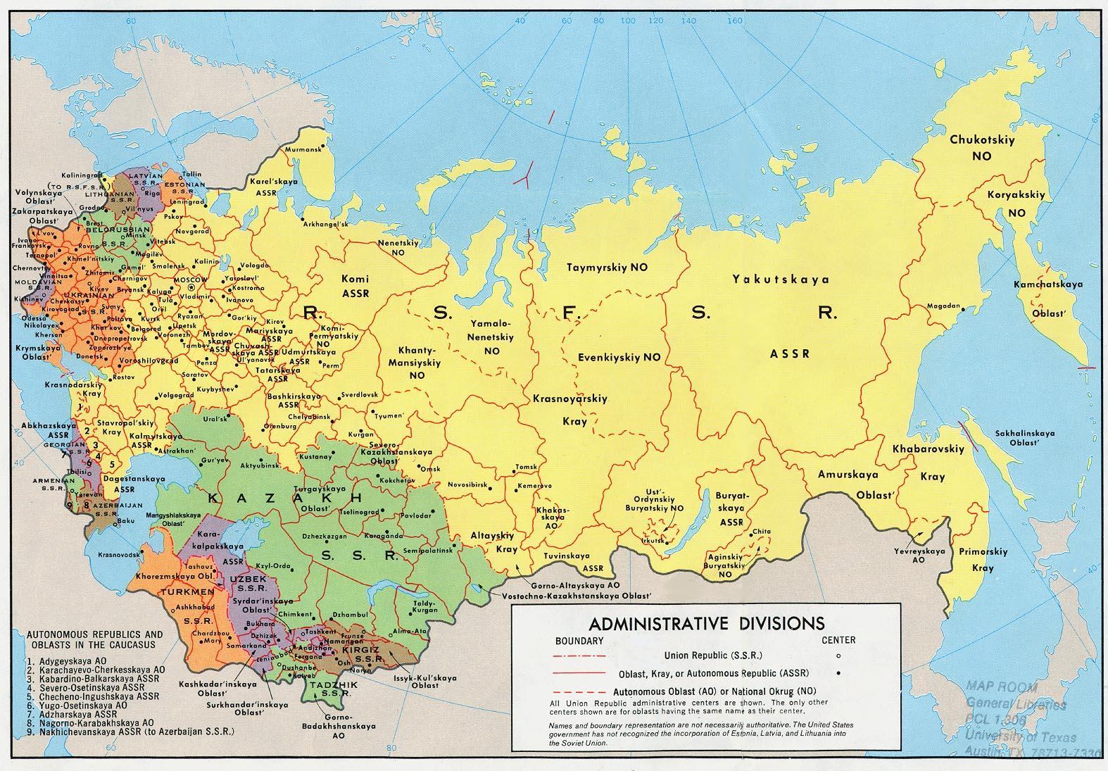 Mapa Sssr Mapa Sssr A Istocne Evrope Evropi